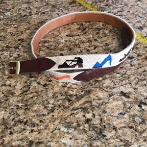 Accessories - Needlepoint belt